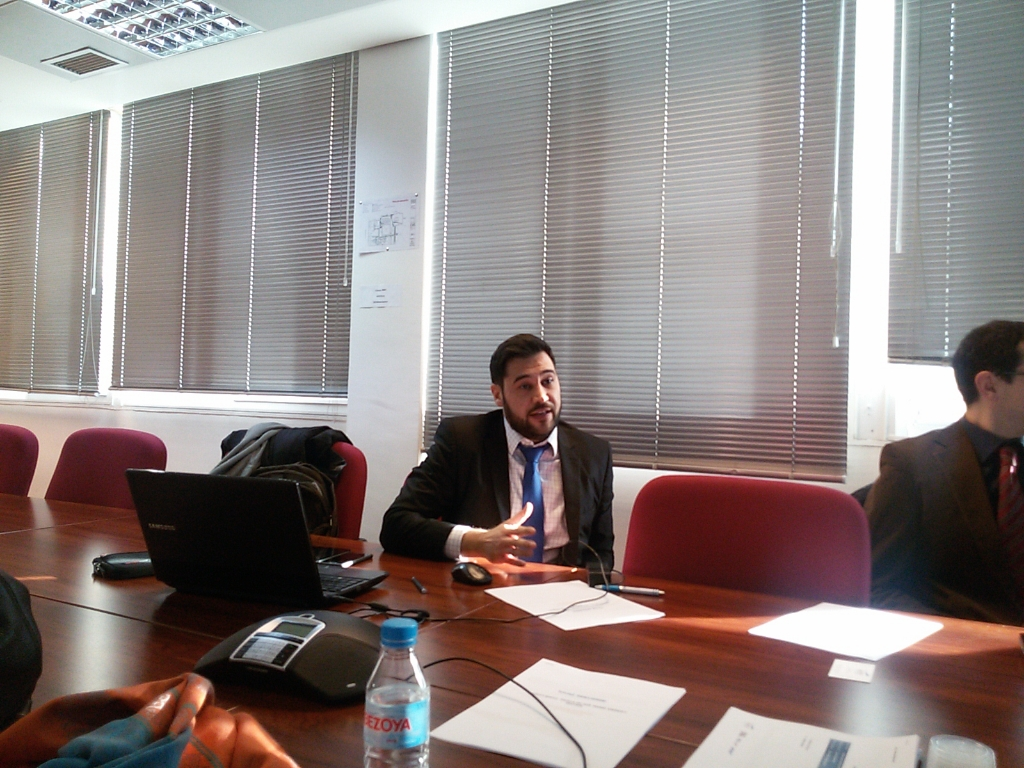 1st meeting – Madrid – January 19th & 20th 2016